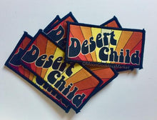 "Load image into Gallery viewer, Desert Child Original 3.5"" Iron on heart patch"