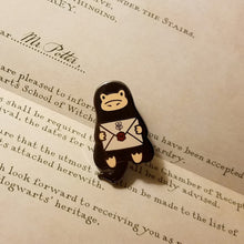 Load image into Gallery viewer, Acceptance Letter Niffler Enamel Pin