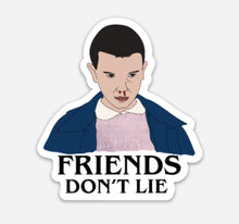 Load image into Gallery viewer, Stanger Things Eleven Vinyl Sticker
