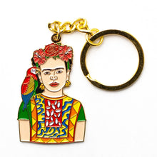 Load image into Gallery viewer, Frida Paradise Keychain