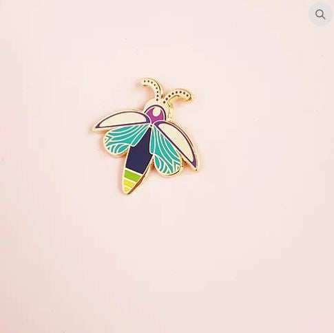 It's Lit - Firefly Lapel Pin
