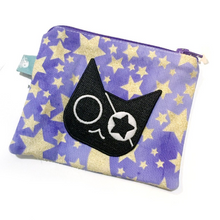 Load image into Gallery viewer, Glow Pirate Cat Patch - Sticker or Iron On!