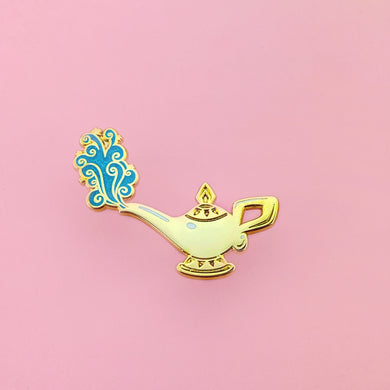 A Whole New World - Lamp - Enamel Pin