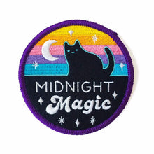 "Load image into Gallery viewer, MIDNIGHT MAGIC 3"" IRON-ON PATCH"