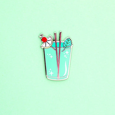 Mint Julep - Enamel Pin