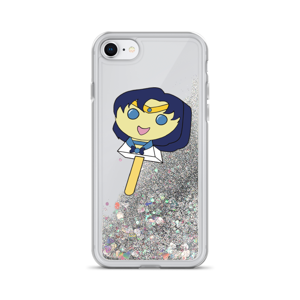 Mercury Bubblegum Pop Liquid Glitter Phone Case