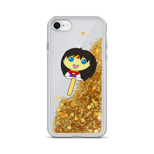 Load image into Gallery viewer, Mars Bubblegum Pop Liquid Glitter Phone Case