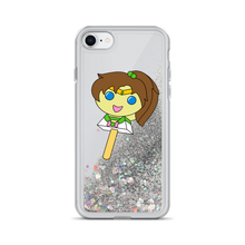 Load image into Gallery viewer, Jupiter Bubblegum Pop Liquid Glitter Phone Case