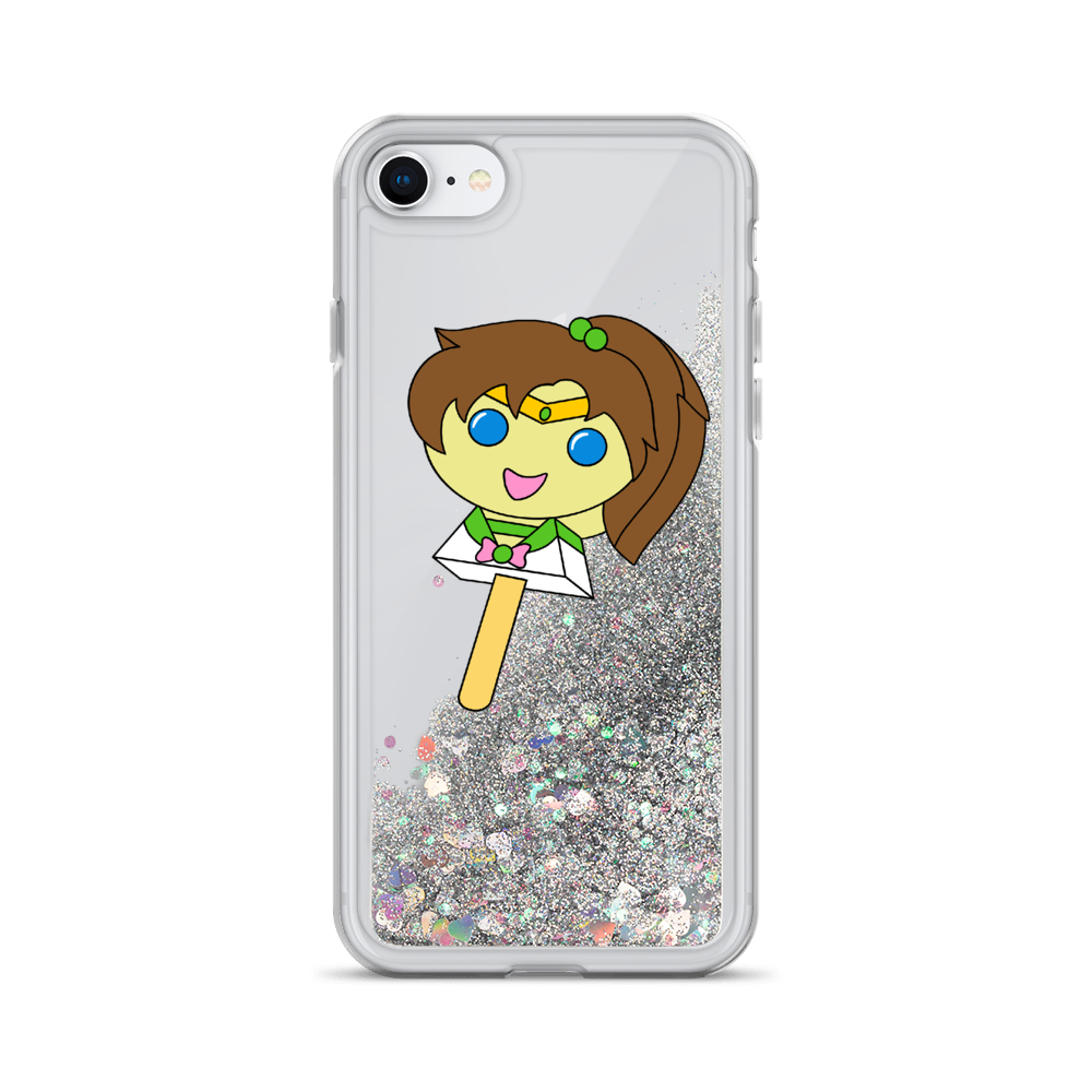 Jupiter Bubblegum Pop Liquid Glitter Phone Case
