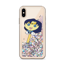 Load image into Gallery viewer, Mercury Bubblegum Pop Liquid Glitter Phone Case