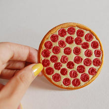 Load image into Gallery viewer, PIZZA IRON-ON PATCH
