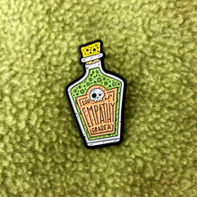 Load image into Gallery viewer, Empathy Poison Bottle Pin