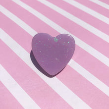 Load image into Gallery viewer, Mini Candy Heart Resin Pin