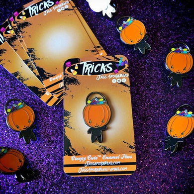 Tricks Enamel Pin