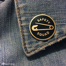 Load image into Gallery viewer, SAFETY SQUAD ENAMEL LAPEL PIN