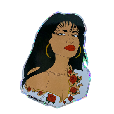 La Rosa Holographic or Regular Sticker