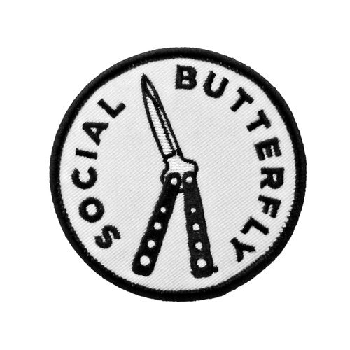 Social Butterfly Patch
