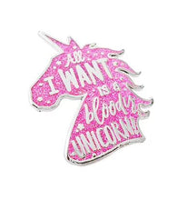 Load image into Gallery viewer, UNICORN PIN BADGE