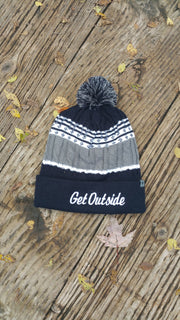 Get Outside Pom Beanie