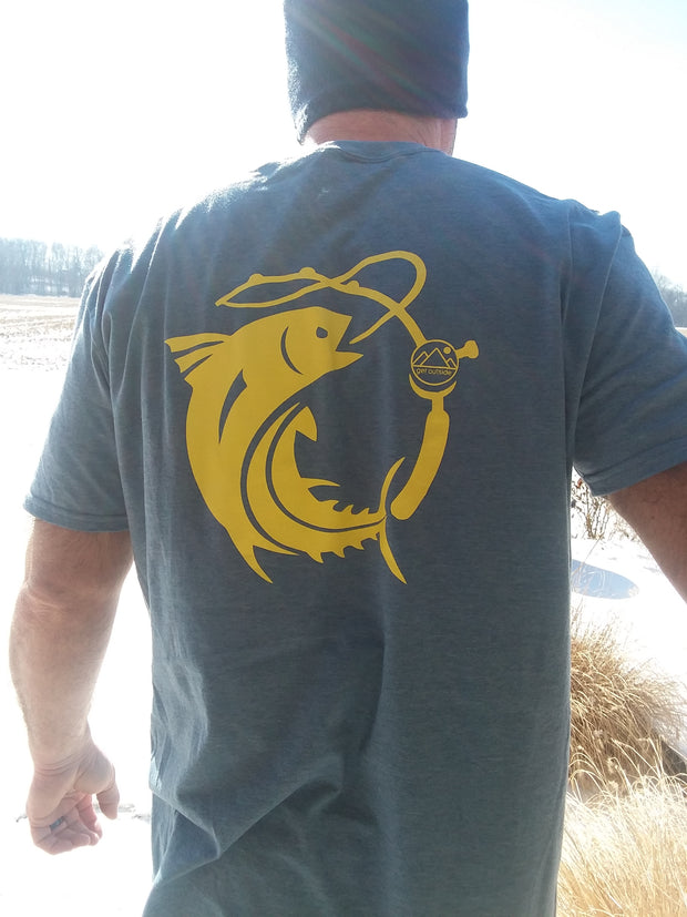 Men's Get Outside Fishing Tee