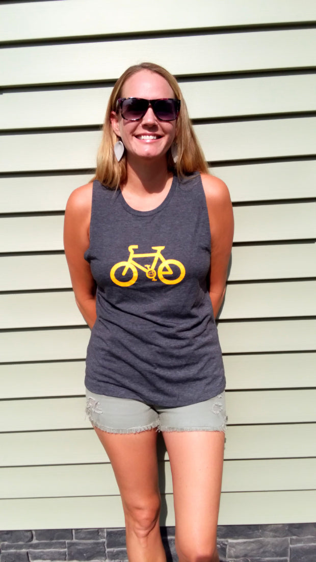 Women's Bicycle Muscle Tee