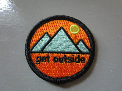 Get Outside Iron-On Patch
