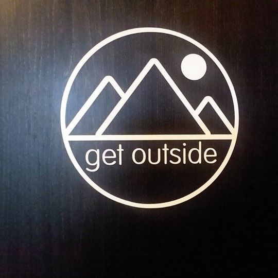 Get Outside Logo Decal
