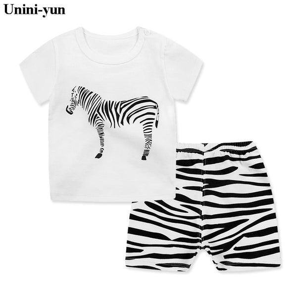 194426a544cf Kids clothes Summer Baby Boy Clothes Monkey toddler Boys clothing Sets 2018  New Children Cotton Suit