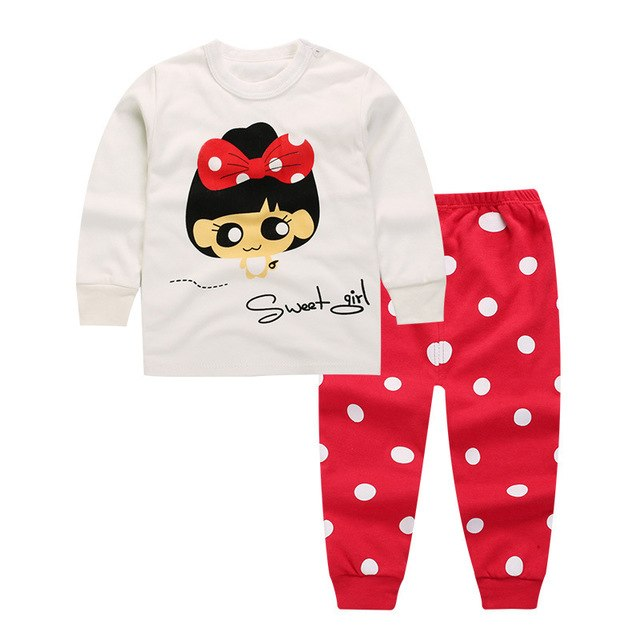 8d75d3445fe Baby Boys Clothes 2018 Spring Autumn Cartoon Leisure Long Sleeved T-shirts  + Pants Newborn Baby Girl Clothes Suits