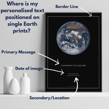 Load image into Gallery viewer, Single Earth Print