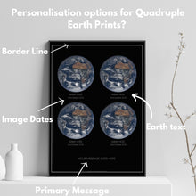 Load image into Gallery viewer, Quadruple Earth Print