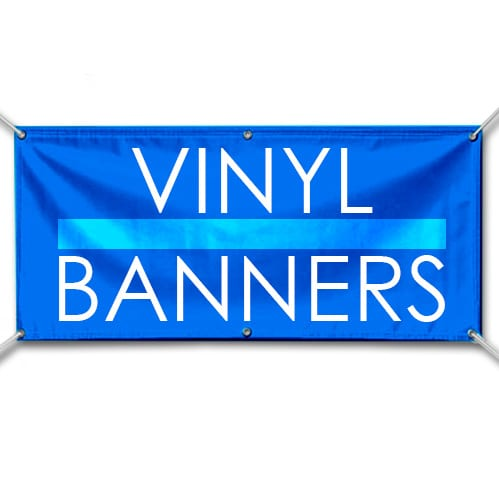 Banner -  2'x8' Premium Full Color Banner