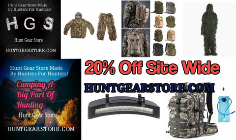 20% Site Wide Sale | Hunting Supply Store