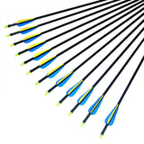 30 inches Fibreglass Arrows Archery Arrows Nocks Hunt Gear Store