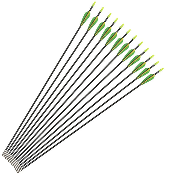 "31.5""  Archery Arrows Fiberglass for Archery  Bows Hunt Gear Store"
