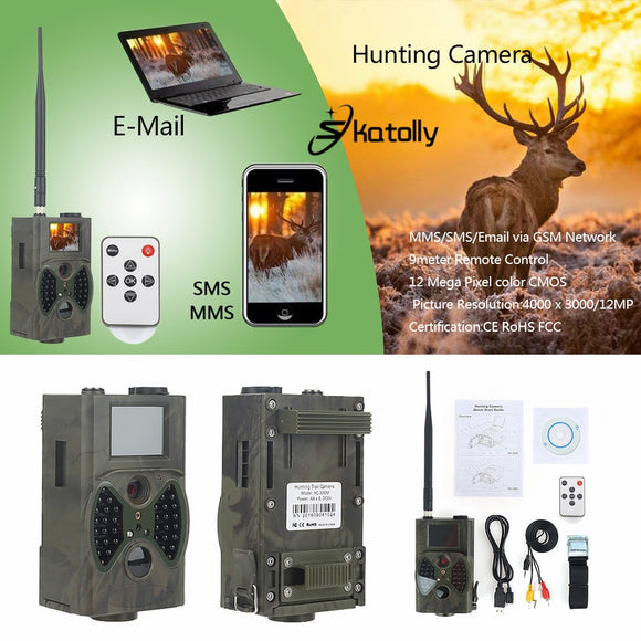 Hunting Camera Night Vision MMS GPRS