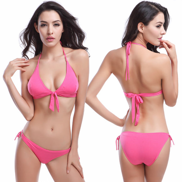 Bikini Two piece Rose Red  Set Push Up Swimsuit Hunt Gear Store