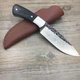Handmade Damascus Steel Forged Damascus Steel Fixed Knife Hunt Gear Store