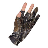 Gloves Camouflage Anti-Slip Elastic Thin  Half Finger Hunt Gear Store
