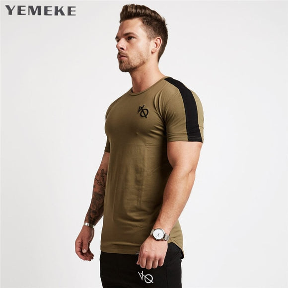 New Brand Clothing Tight T-Shirt Men's