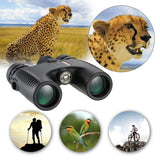 HD10X26 Waterproof Binocular Wide Angle Hunt Gear Store
