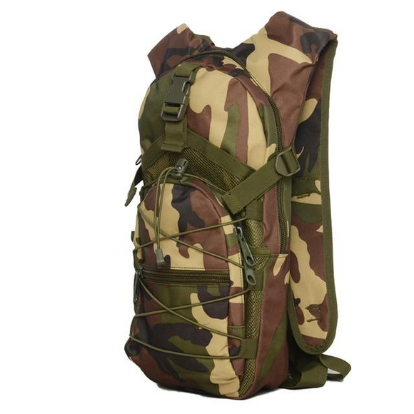 Hydration Camo Backpack Water Bag, Color - JungleCamo
