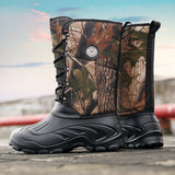Outdoor Men Hiking Shoes Waterproof High-top Desert Military Tactical Boots Mens Special Forces Sports Tactical  Hunting Boots