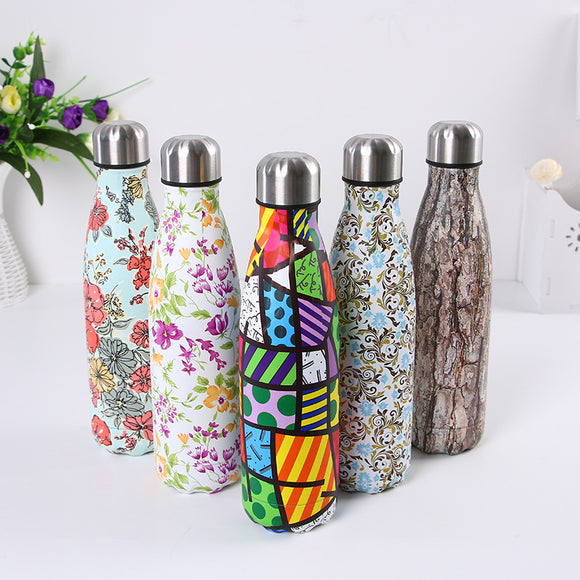 500ml Insulation Hot&Cold Stainless Steel Water Bottles
