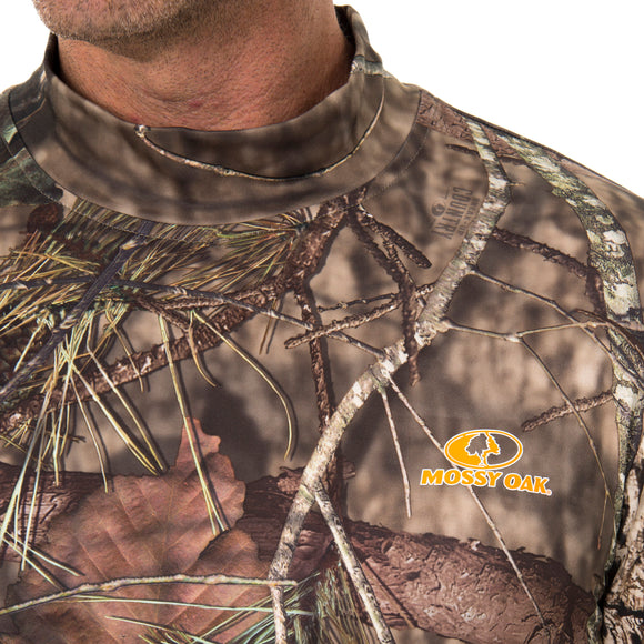 Men's Ultimate Cold Gear Base Layer Top Mossy Oak