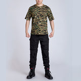 Outdoors T-shirt Men Digital Camo