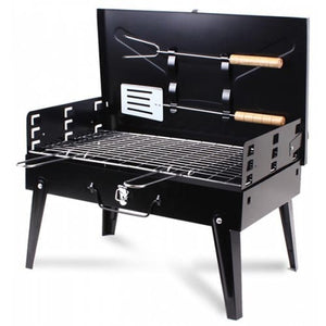 HEWOLF Outdoor Portable Foldable Barbecue Grill