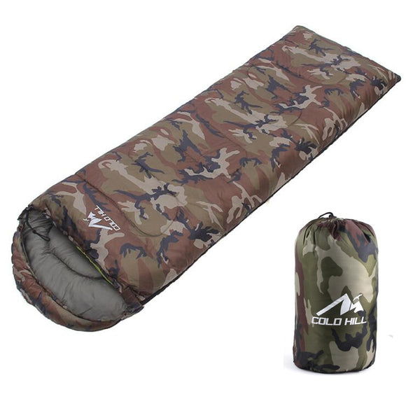 Sleeping Bag Camouflage Adult Camping Outdoor Lightweight Hunt Gear Store