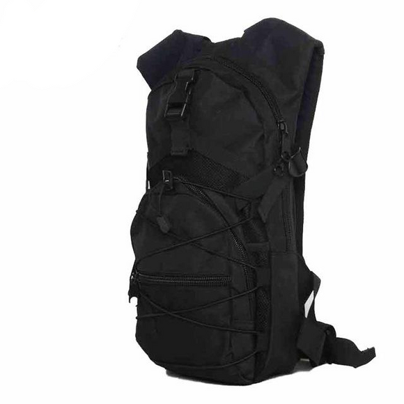 Hydration Camo Backpack Water Bag, Color - Black