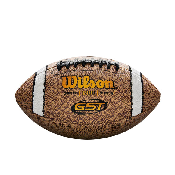 Wilson GST Game Series Official Size NCAA Composite Football